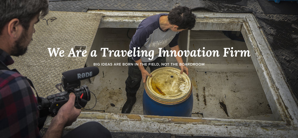 We Are A Traveling Innovation Firm