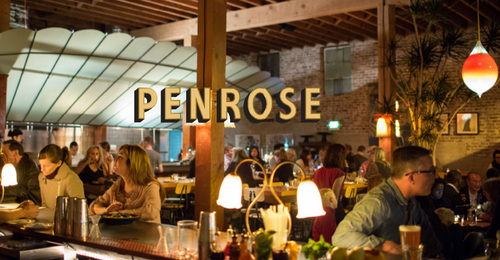Charlie Hallowell's Penrose: A little bit Tuscany, a little bit Morocco.
