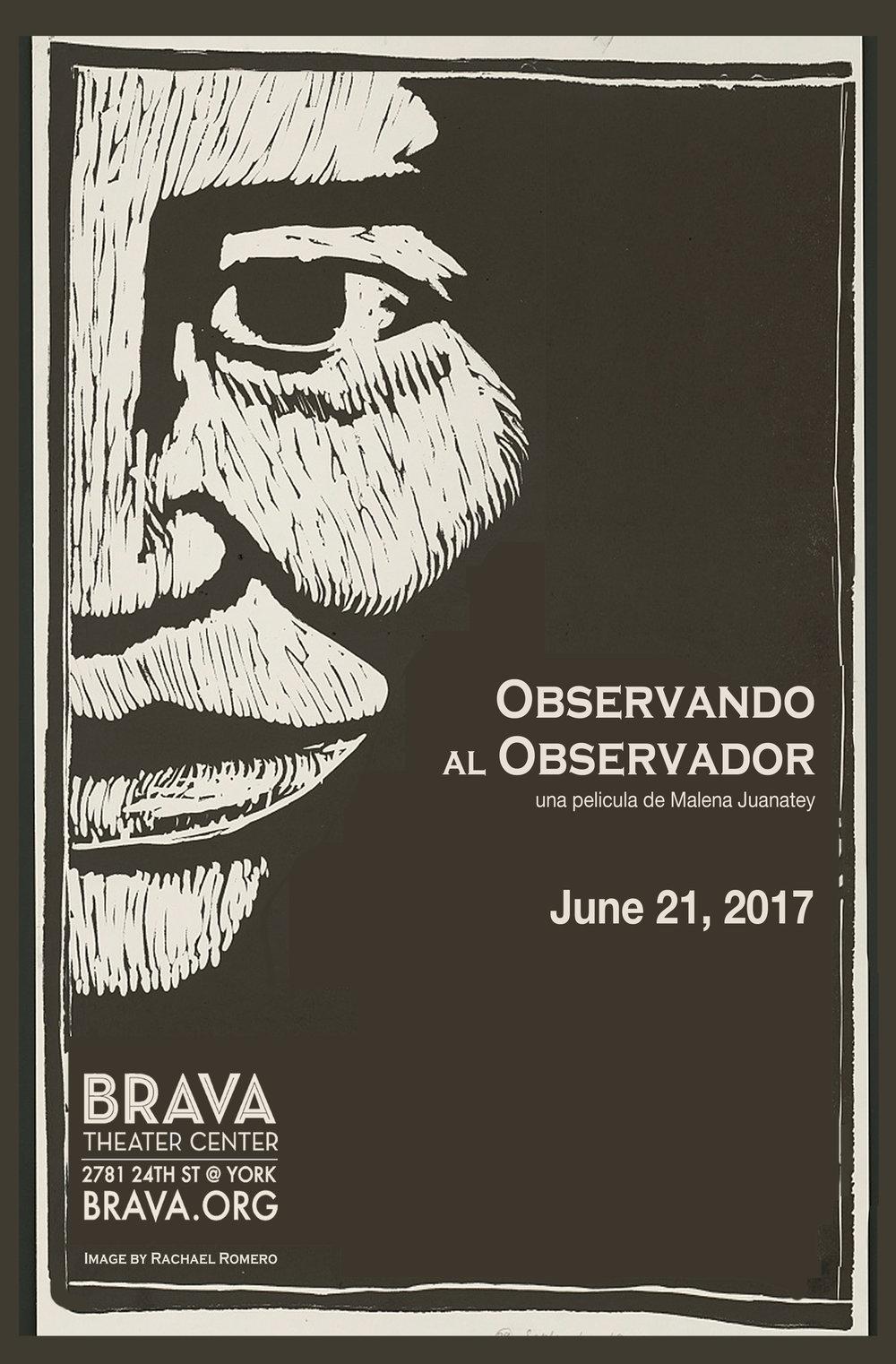 Observando al Observador, a documentary film by Malena Juanatey - US Premiere