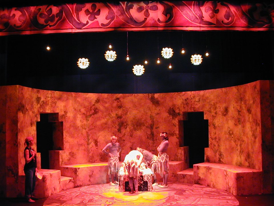The Hungry Woman  –   A Mexican Medea , set design by Celia Herrera Rodríguez (2005)