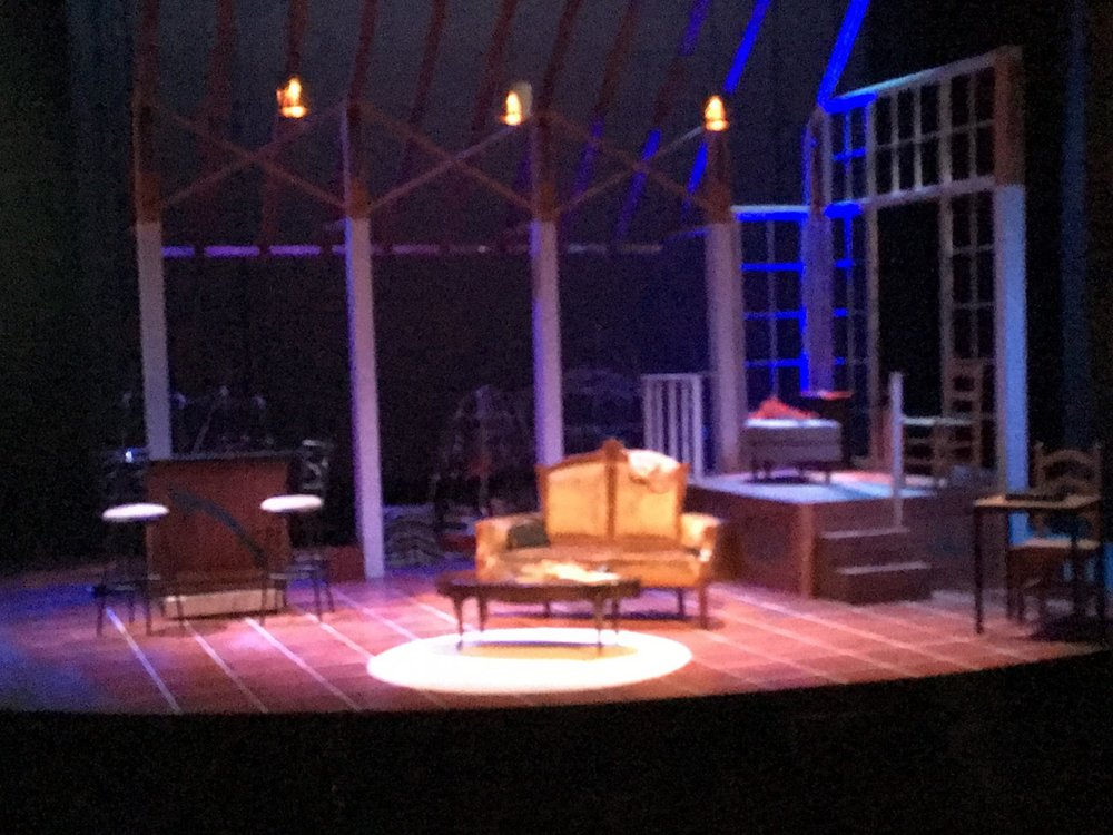 Set for  The Mathematics of Love , Brava Theater Center –  designed by Celia Herrera Rodríguez with Tanya Orellana (2017)