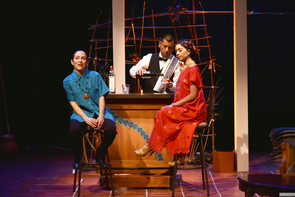 Photo by Gareth Gooch of  The Mathematics of Love  at Brava Theater Center
