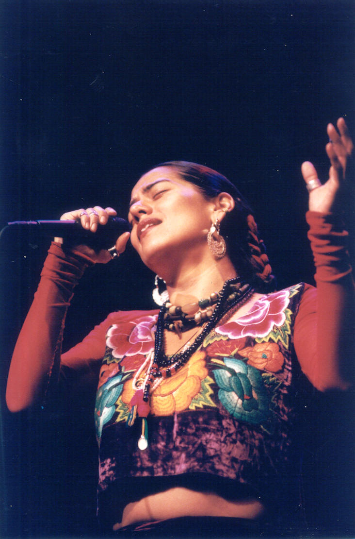 Lila Downs from a performance on Brava's Main Stage back in the day!
