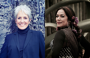 Joan Baez and Lila Downs.