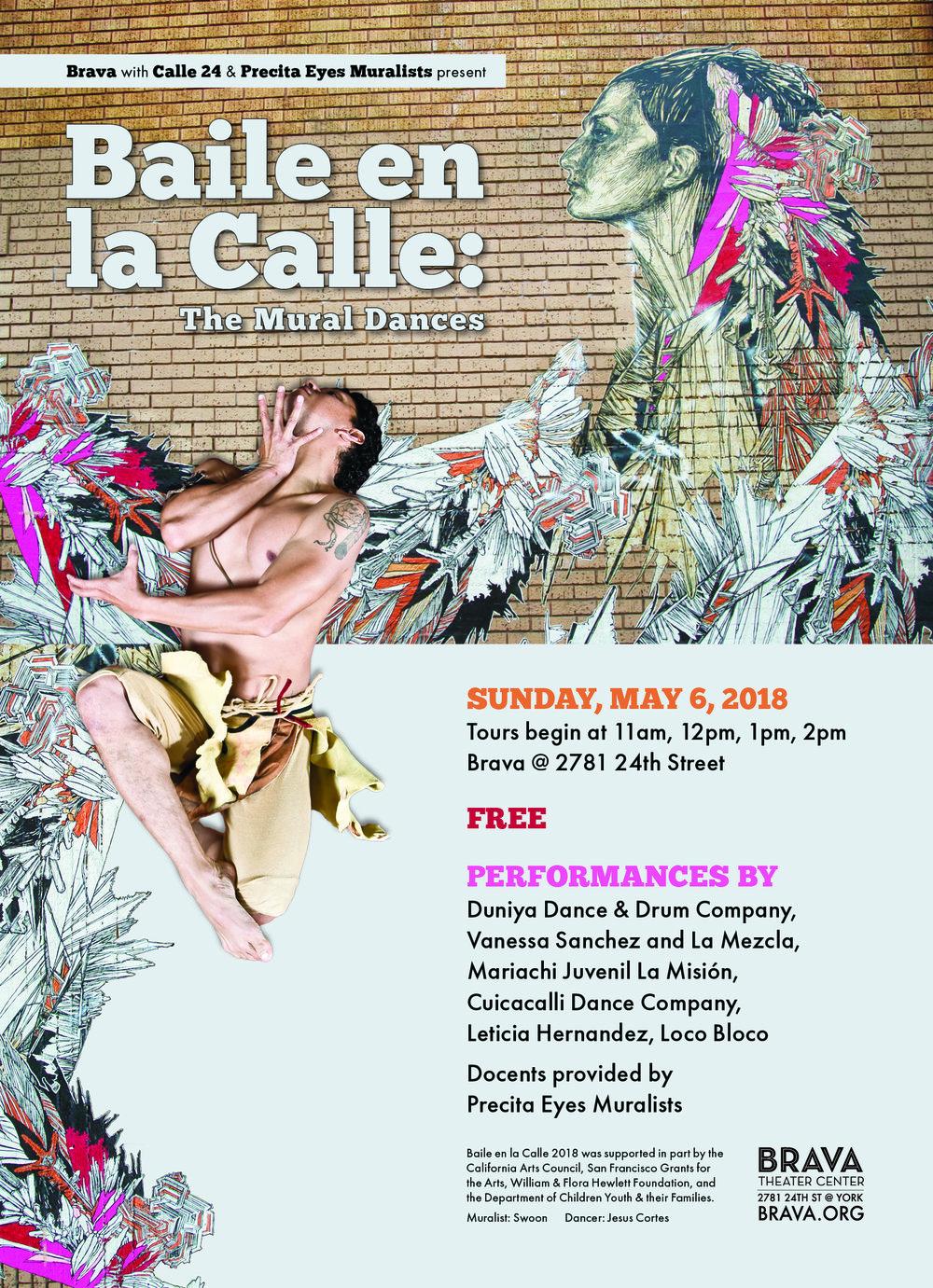 Brava, Baile en la Calle 2018, postcard, 3-29-18 with bleed.jpg