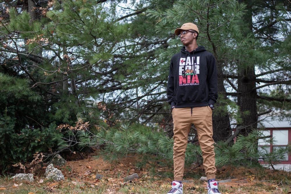 Men's Late Fall Hoodie Look 2