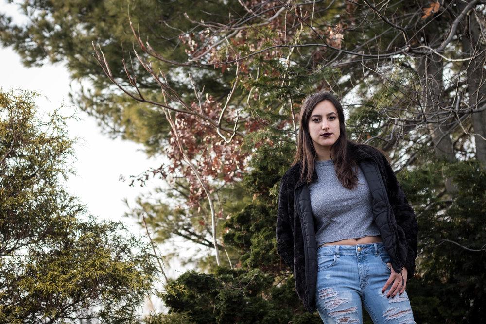 Rocking a Women's Reversible Fleece Jacket 9