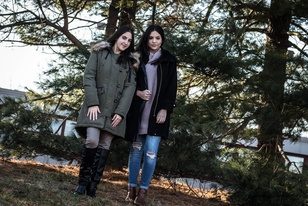 The Sisters Rocking Winter Fashion Looks 11