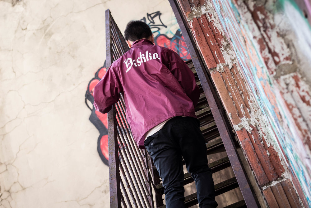 Diskko Coaches Jacket