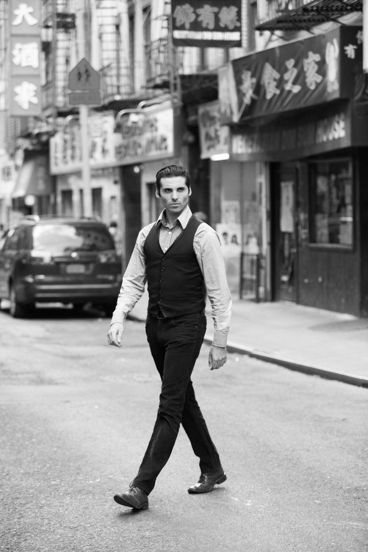 Brendan Amoruso: Classic New York City Style
