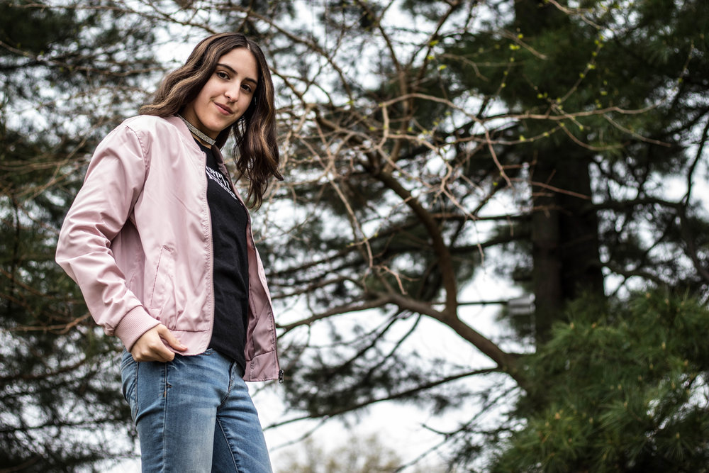 A Lovely Pink Bomber Jacket for Spring 6