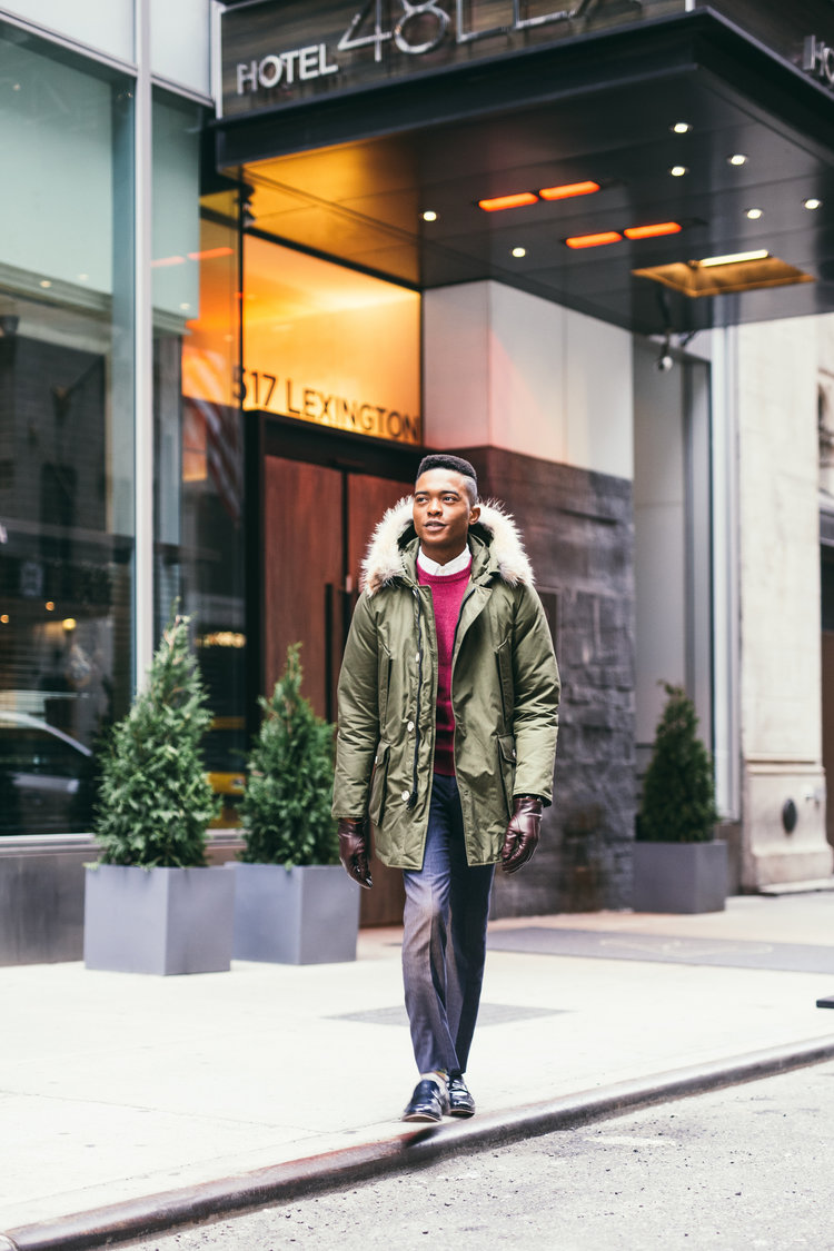 Igee Okafor: Clean, Classic, and Colorful Men's Fashion 2