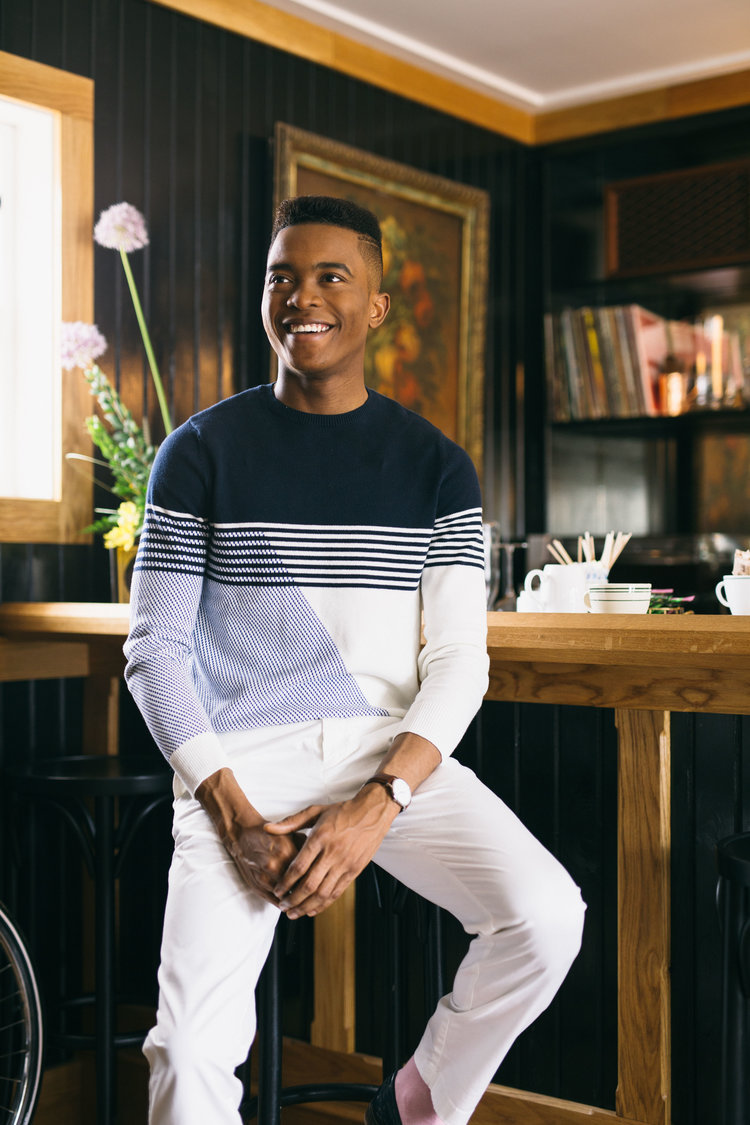 Igee Okafor: Clean, Classic, and Colorful Men's Fashion 4