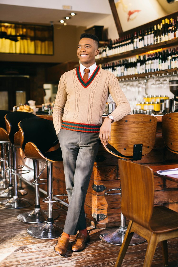 Igee Okafor: Clean, Classic, and Colorful Men's Fashion 5