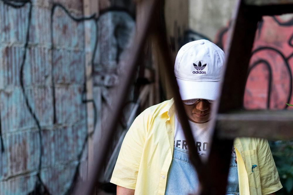 """Tony """"Tone Tone"""" Yang White Adidas Hat"""