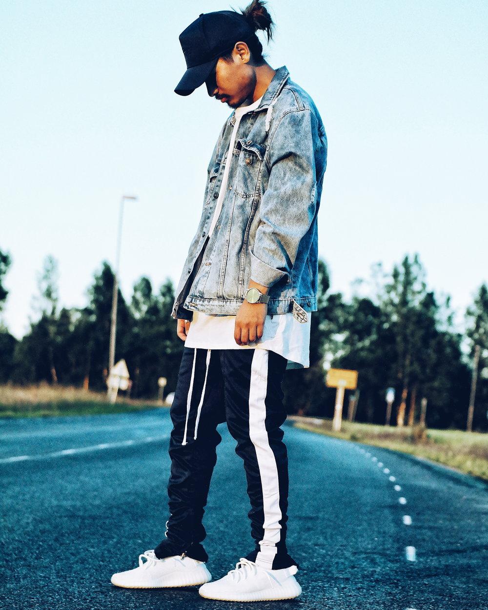 Teddy Upacut's Adidas Street Style