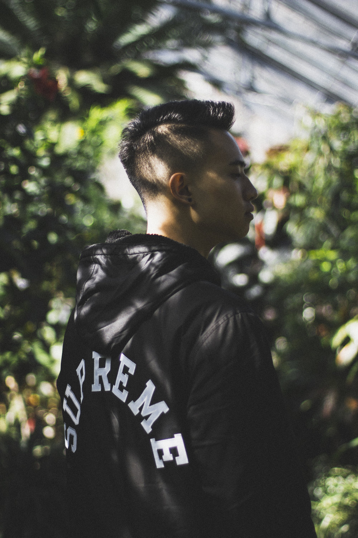 Koven Wei, Black Supreme Hoodie