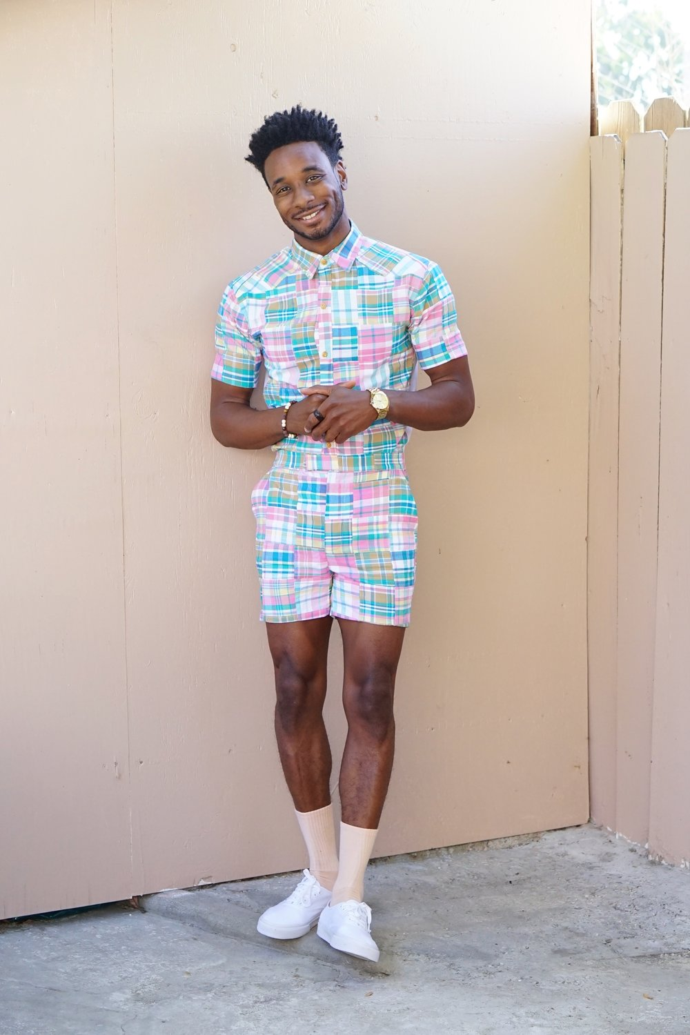 Norris Danta Ford's Colorful Men's Fashion