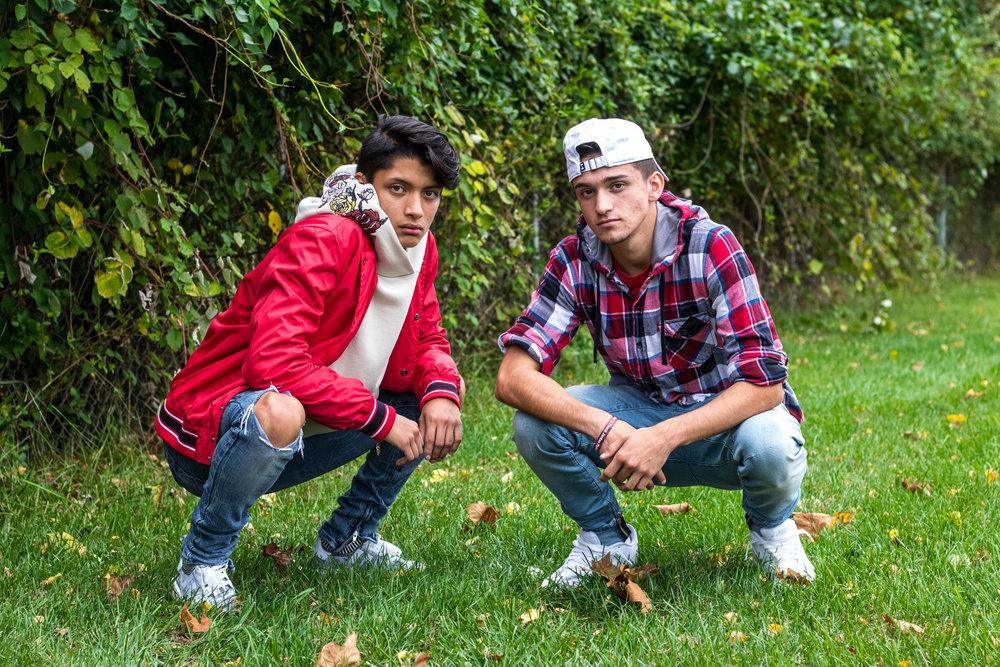 Dane Papalia and Charlie Serrano present their fall fashion ideas