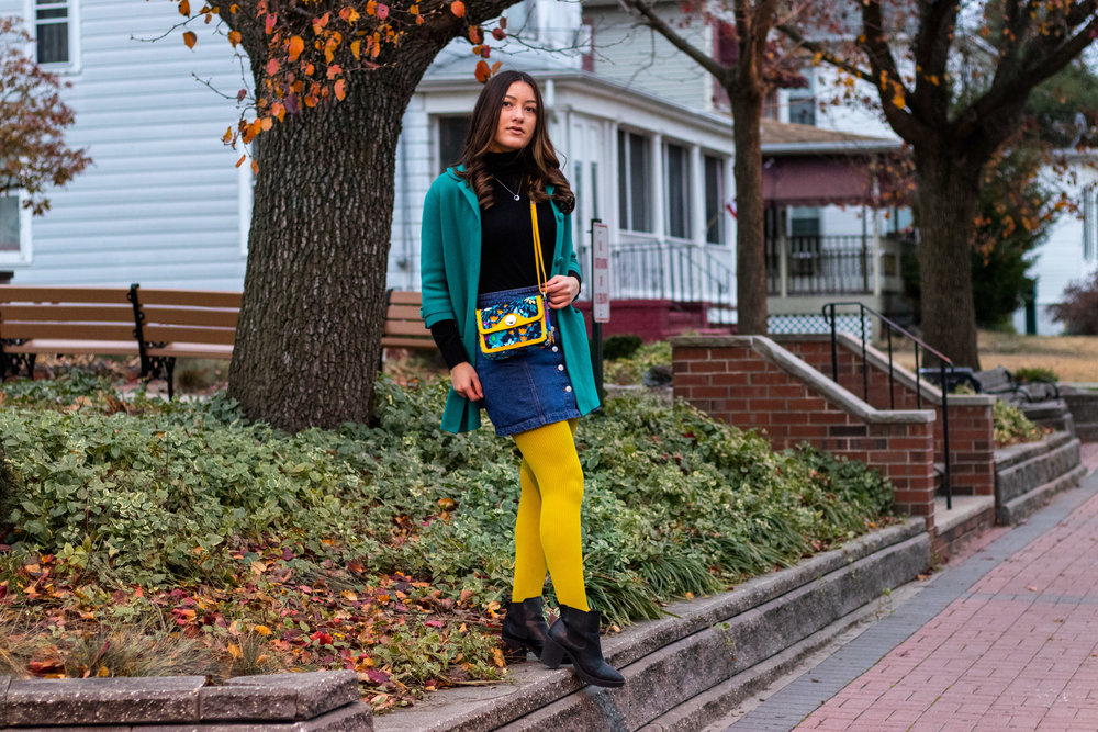December Fashion and Winter Fashion Inspiration by Olivia Awalt