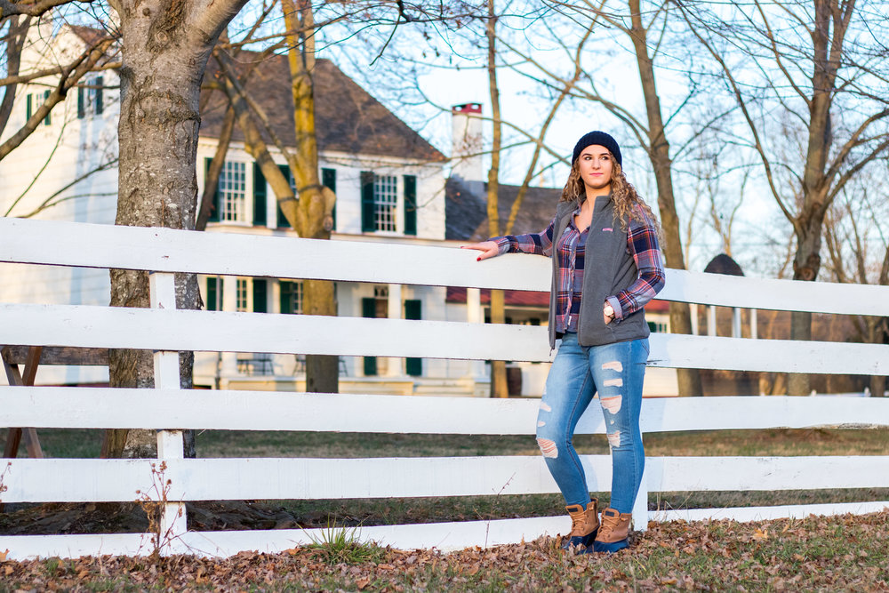 Olivia Caponigro's Outdoor Winter Fashion for Winter 2018