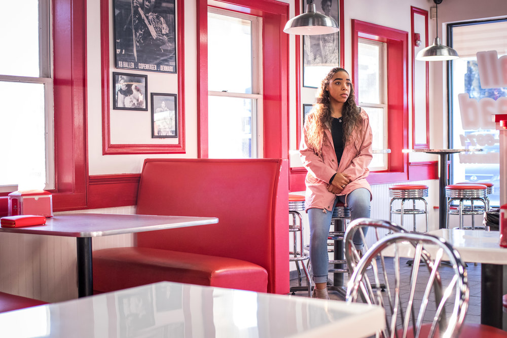 Photography in Matawan's Burger Shop