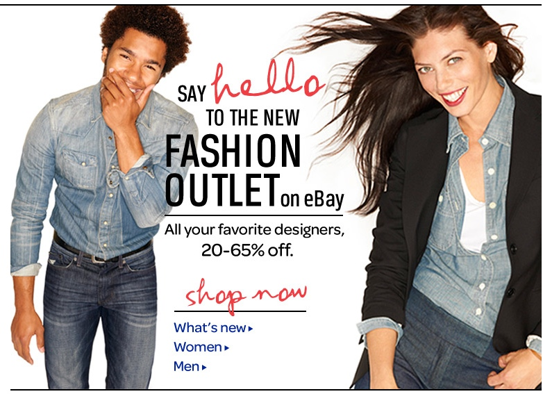 22b5c0413158f4 Arrival of eBay Fashion Outlet Promises Big Brands at Discounted Prices