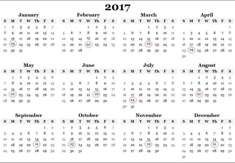 2017 payment calendar ebay partner network