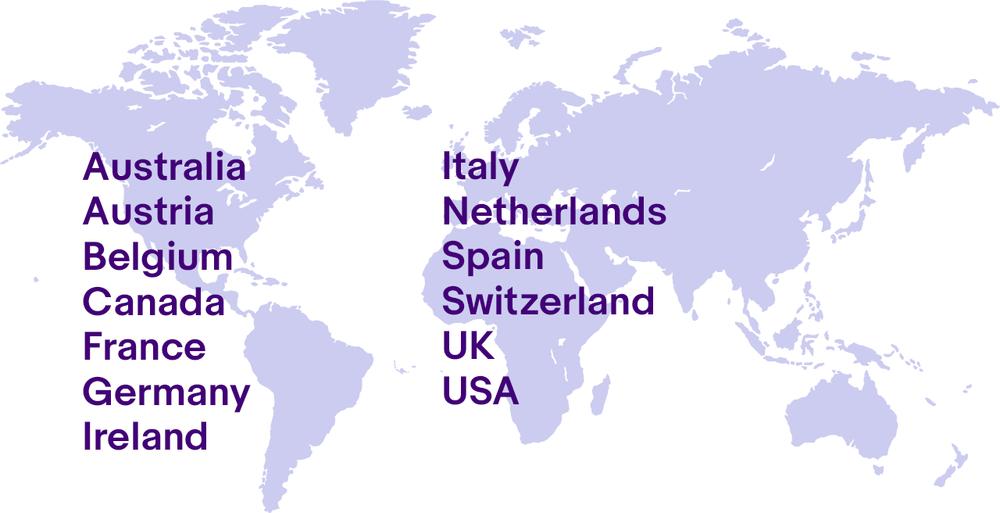 Map of eBay Partner Network programs