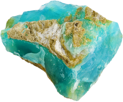 PERUVIAN OPAL - Blue Peruvian Opal is mystically known as a stone of courage and ingenuity. It is said to improve self-esteem and self-love. It is also said to be an aid to creativity and communication of all types.Peruvian blue opal is also said to also help with stress.CHAKRA: Throat