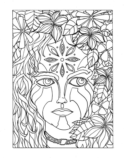 ADULT COLORING PAGES — Fine Art by Todd Holm