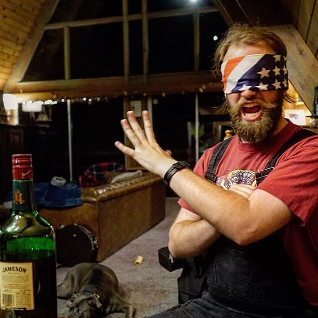 New album cover?  #americanmusic #blindtastetest #tastetest #whiskey #whisky #blindfolded #america #4thofjuly #fourthofjuly #whiskeysunday #bandlife