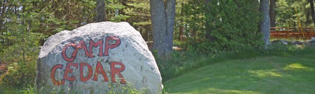 Camp Cedar History - Camp Rock