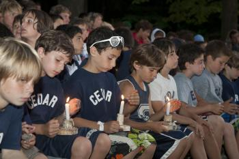 Maine Camp Friends - Candlelight Tradition