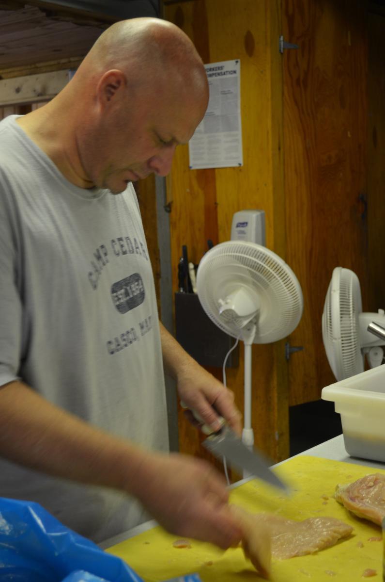 Gill Stansfield- Camp Head Chef