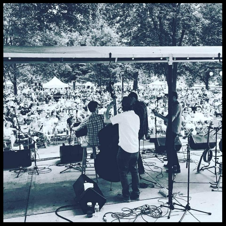 Charm City Junction at Bluegrass on the Grass at Dickinson College, July 2016.
