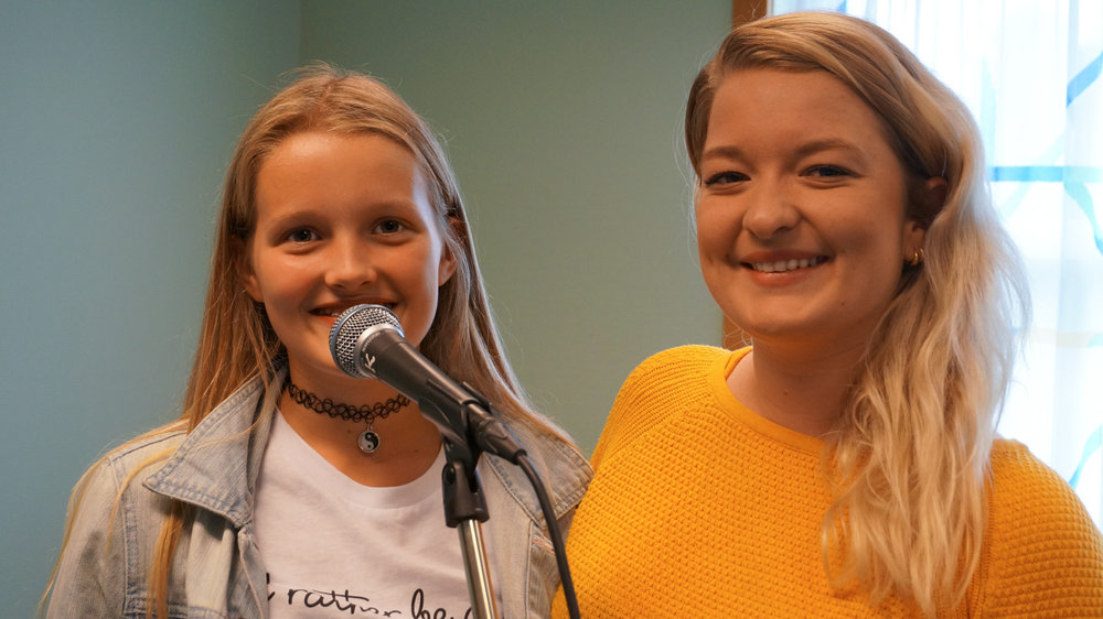 Syng med stemmen du har. Foto: Ingrid Østang