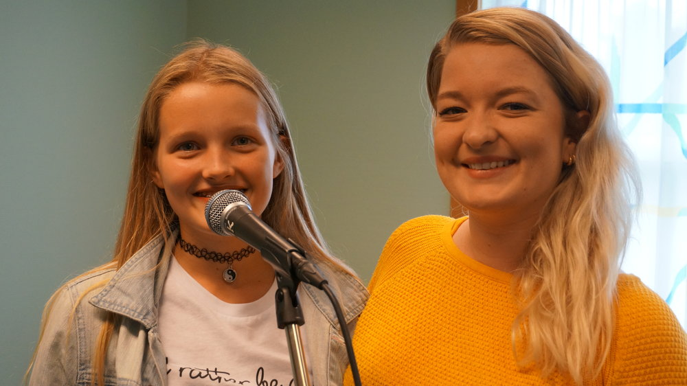 Susanne Klerud til høyre. Foto: Ingrid Østang