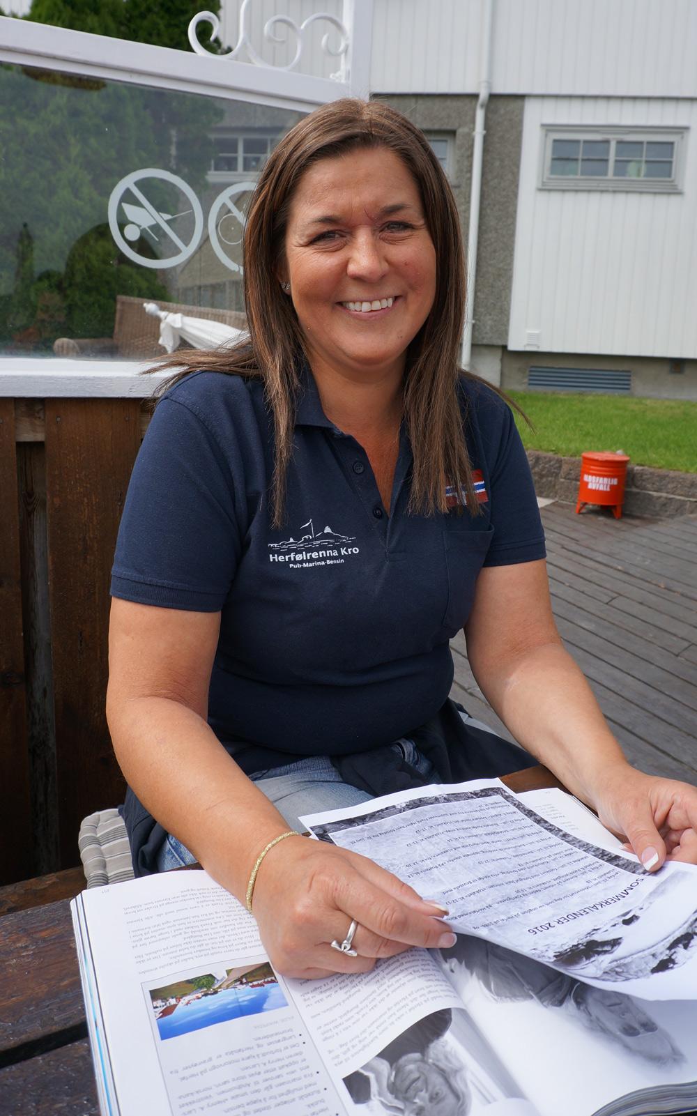 Lise Bustgaard er sjefen for Herfølrenna kro og bryggekjøkken