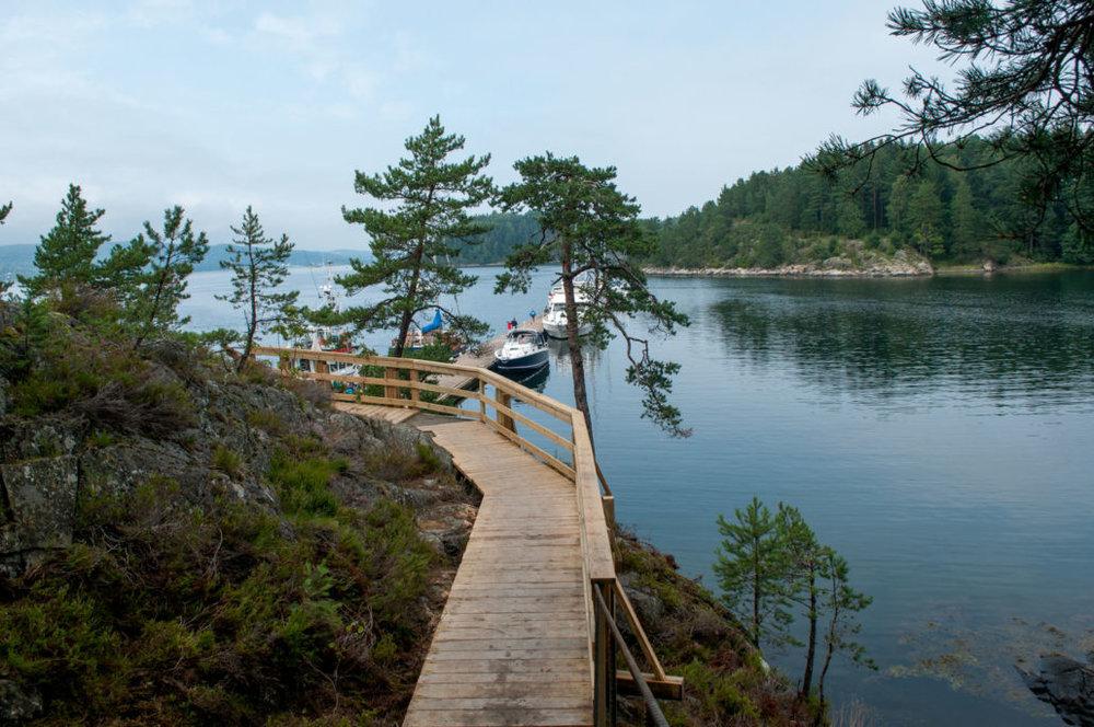 Vestfjorden m/ Håøya: Vestby  Frogn  Hurum  Røyken  Håøya