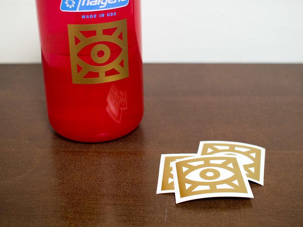Individual vinyl stickers