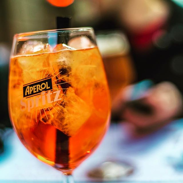 Aperol Spritz is a thing in Italy. I am a fan.