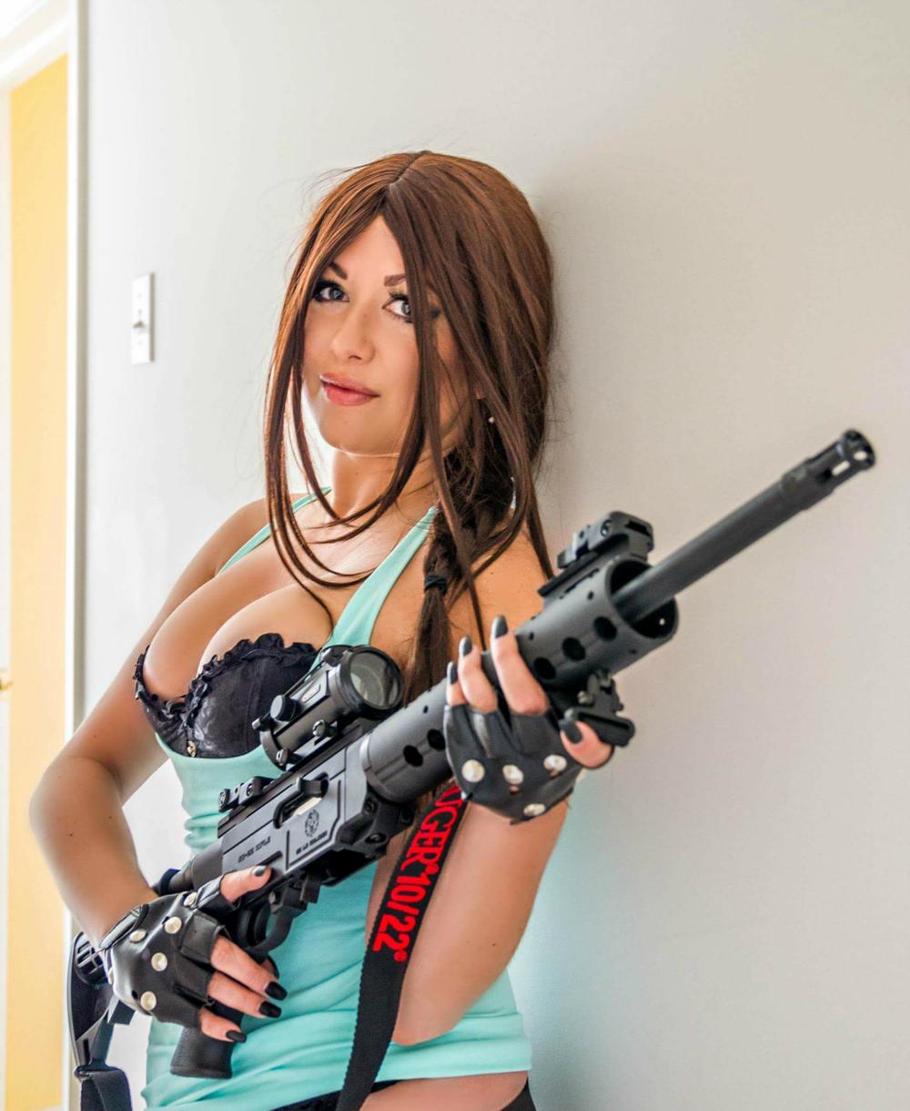 Boudoir Lara Croft