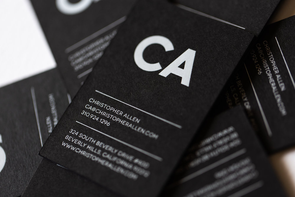 BUSINESS CARDS - Our collection of business cards.