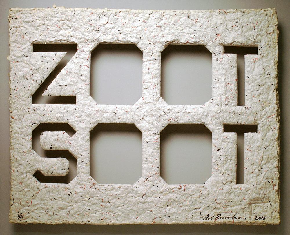 """Zoot Soot"" by Ed Ruscha"