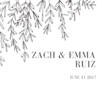 Zach + Emma Ruiz
