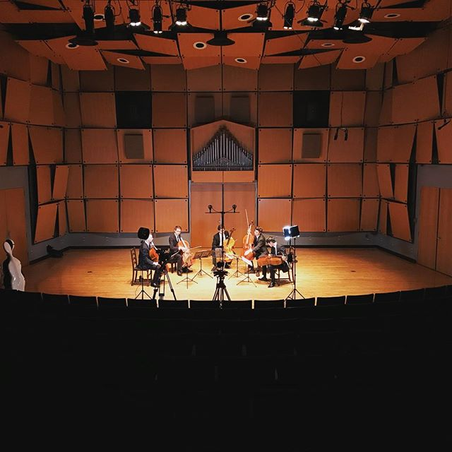 Always a pleasure working with these cellists!