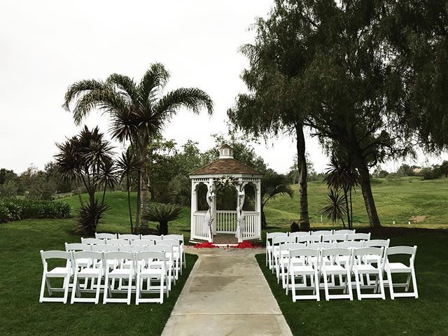 Beautiful morning for a wedding! #wedding #weddingvideography #socalwedding #camarillo