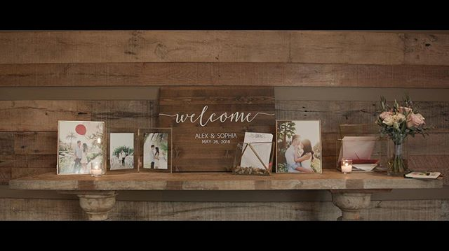 Alex and Sophia's Welcome table  Coordinator: @popthechampagne . . . . Videography:@lensonproductions #lensonweddings #lensonproductions #radiantbride  #ocwedding #californiawedding  #californialove #wedding #anaheimwedding #weddingvideo #weddingideas #rooftopwedding #losangeleswedding #weddingfilm #theknot #weddingcinema #weddinginspo #weddingvideography #realweddings #welcome