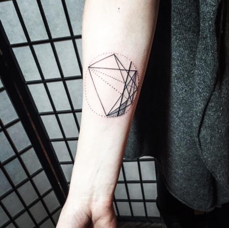 Tattoo designed in collaboration with John O'Hara of Black Iris Tattoo.